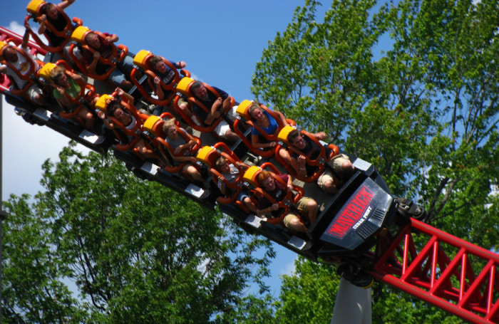 7) Going to Cedar Point once a year, every year.