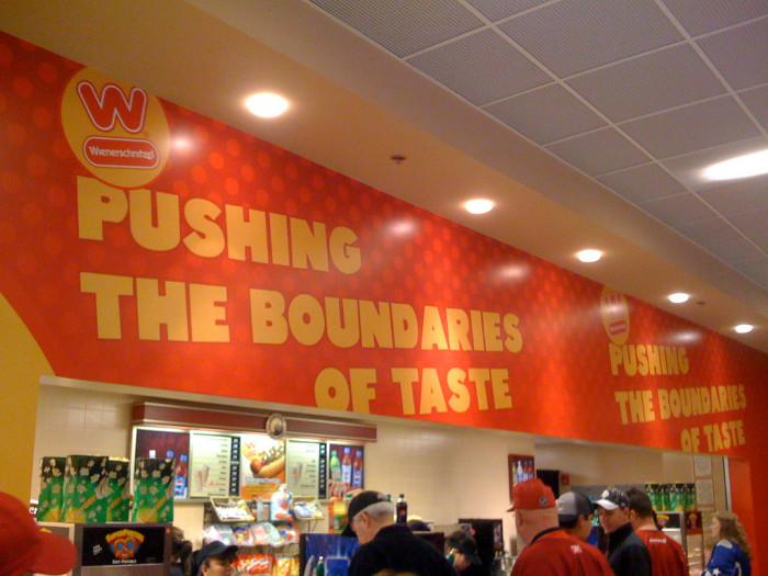 2.) Wienerschnitzel - the world's largest hot dog chain.
