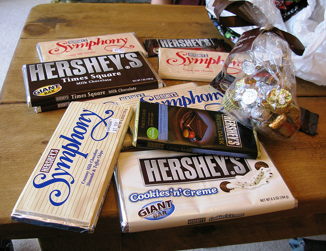 5. Likewise, you know where the best chocolate comes from.