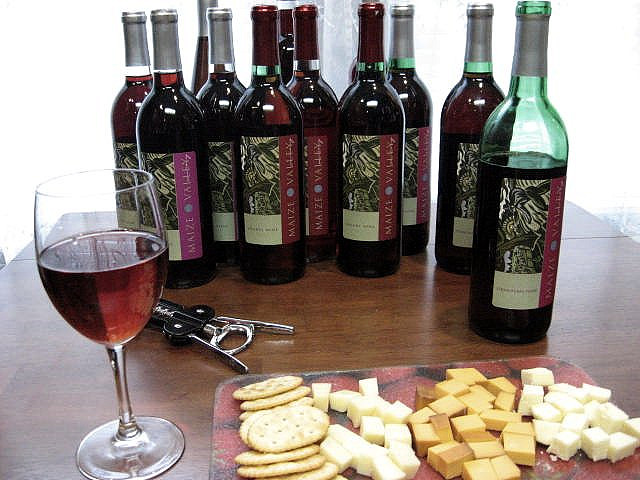 5) Wine from local wineries (because we have a really nice selection of them here.)