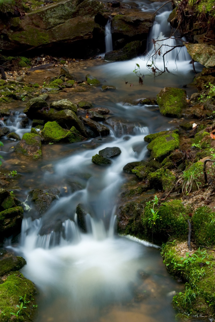 2. Reedy River Falls, Oconee Country