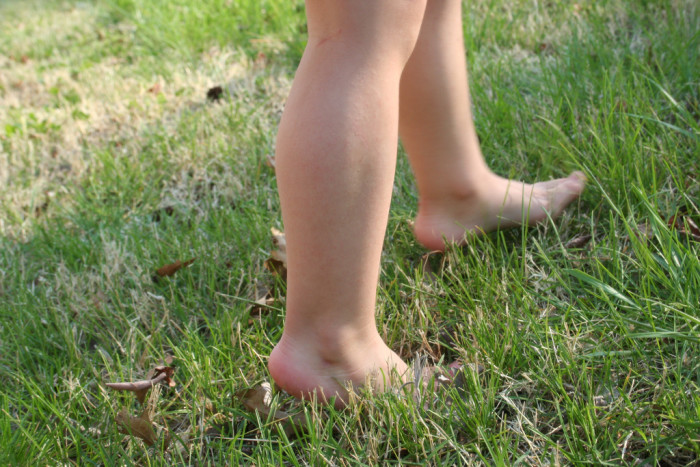 1. Go barefoot...