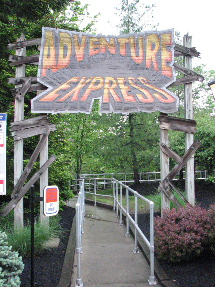 16) Went back to Kings Island and relived your favorite childhood vacations.