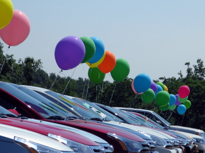 4.) Car dealers may not show cars on a Sunday (Statewide)
