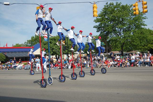 13) The Dearborn Memorial Day Parade...