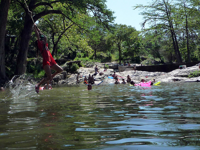 3) Krause Springs (Spicewood)