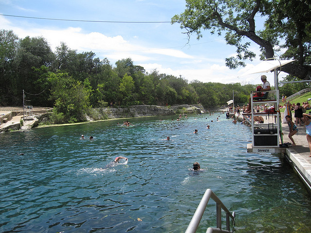 5) Barton Springs Pool (Austin)