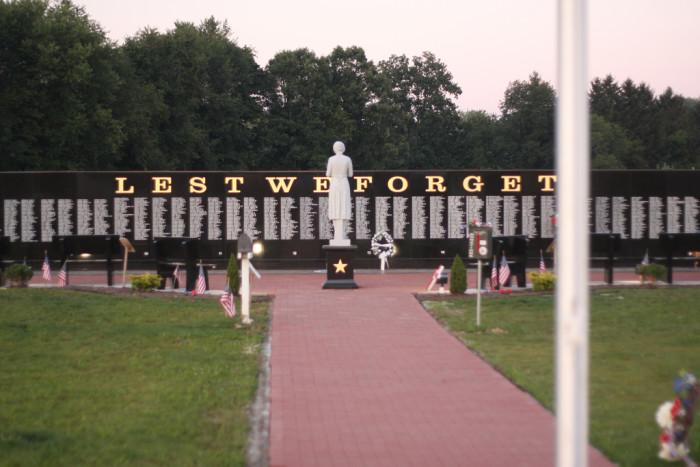 2) Ohio Veterans Memorial Park (Clinton)