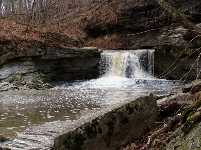 4. McCormick's Creek Waterfall