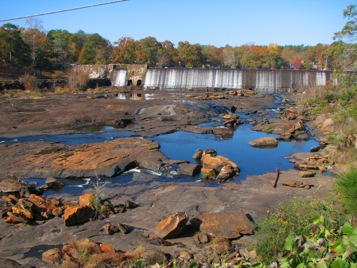 Just another beautiful shot of High Falls State Park.