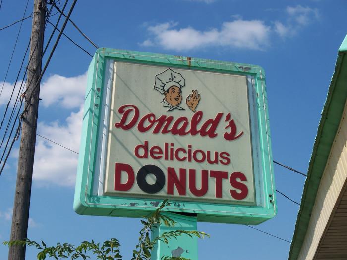 5) Donald's Delicious Donuts (Zanesville)