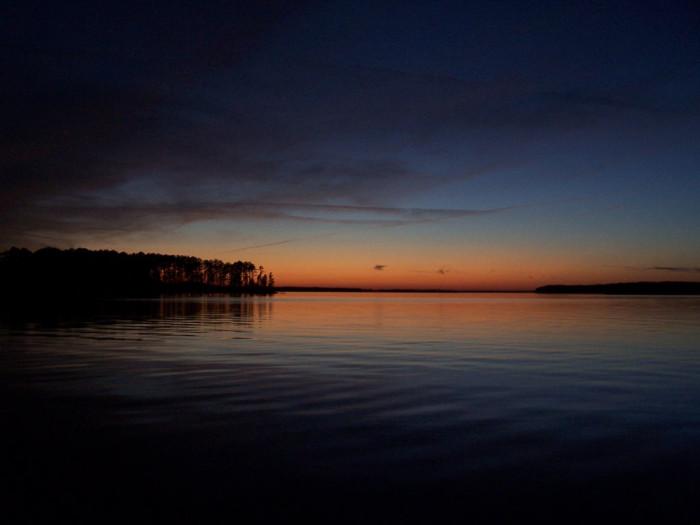 Georgia Side of Lake Thurmond