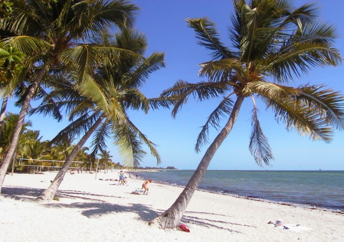 9. Key West has the highest average temperature in the US.