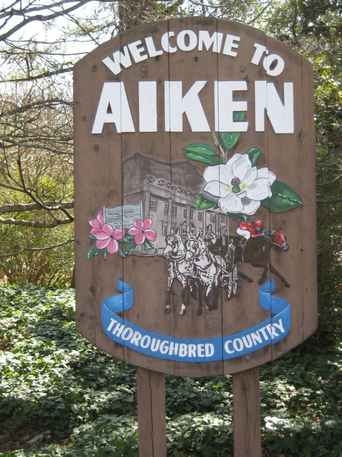 4. Aiken Golf Club, Aiken, SC