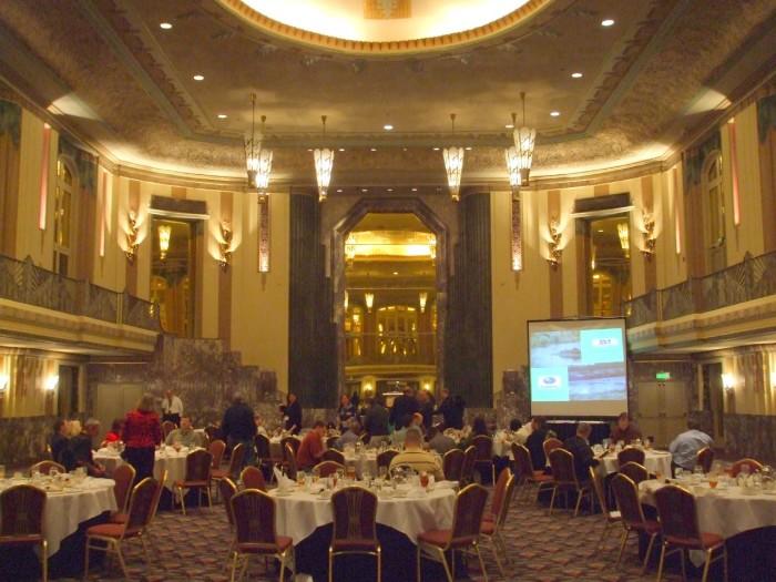 12) Hilton Cincinnati Netherland Plaza