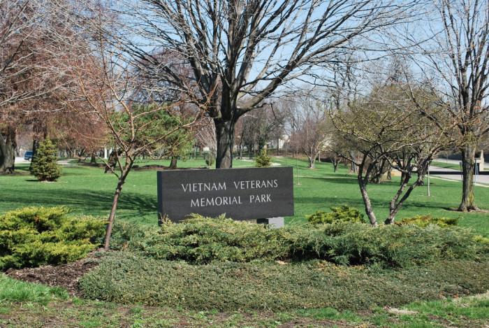 6) Vietnam Veterans Memorial Park (Dayton)