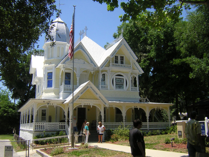 9. Travel back in time to when chivalry still existed in the charming town of Mount Dora.