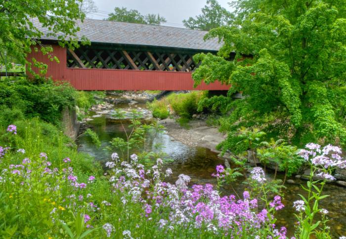 10. The Creamery Covered Bridge in Brattleboro, Vermont