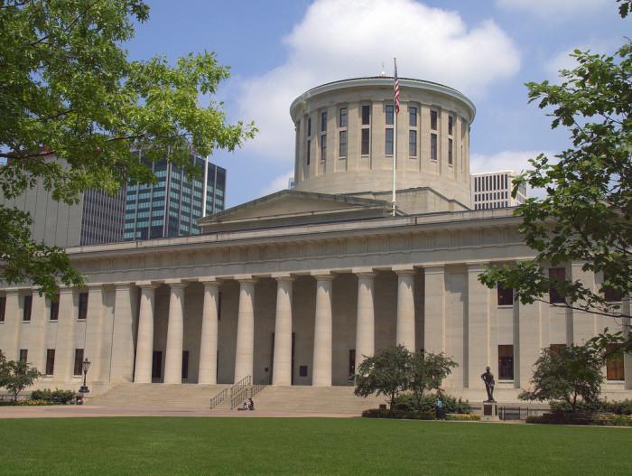 1) The Ohio Statehouse (Columbus)