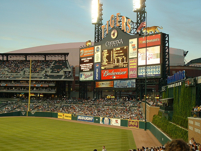 ... Or Tigers Games at Comerica Park in Detroit.