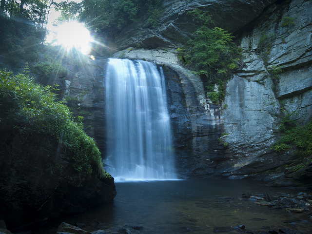 3. Looking Glass Falls