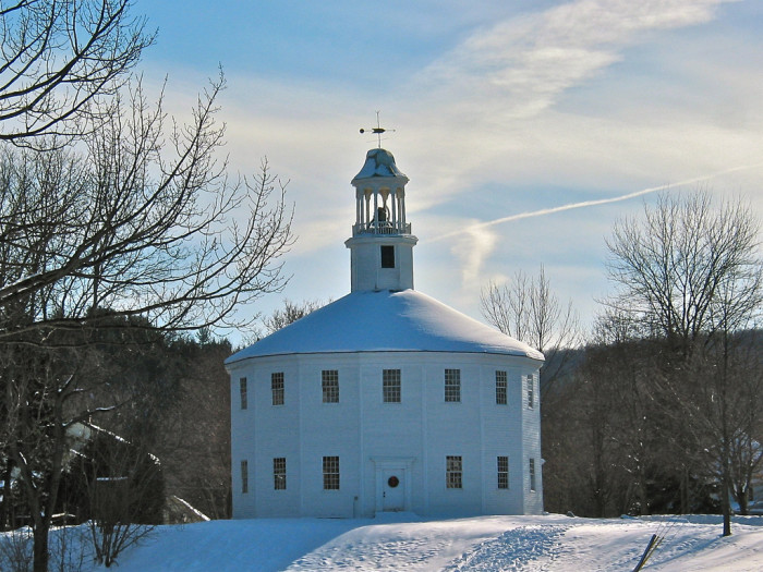 14. The Old Round Church, Richmond, VT