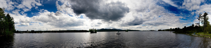 10. Moosehead Lake and Mt. Kineo located in the Maine Highland region.