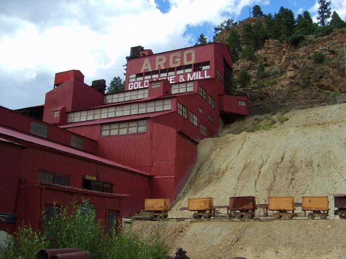 4) Argo Gold Mine and Mill (Idaho Springs)