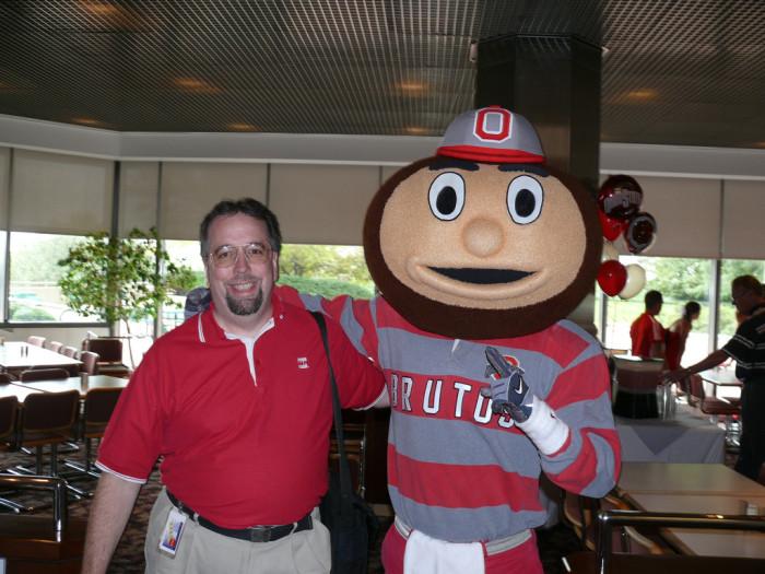 1) The Ohio State Buckeye enthusiast.