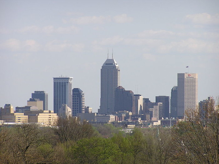 5.) Downtown Indianapolis