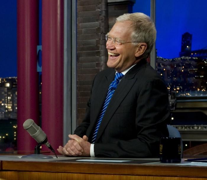 5.) David Letterman