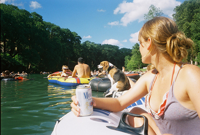 3) Tube the Guadalupe River (or any other river you like!)