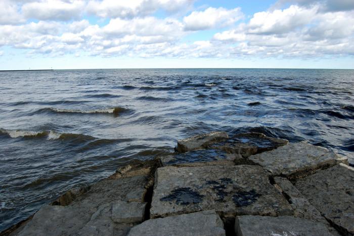 11. The shores of Fair Haven