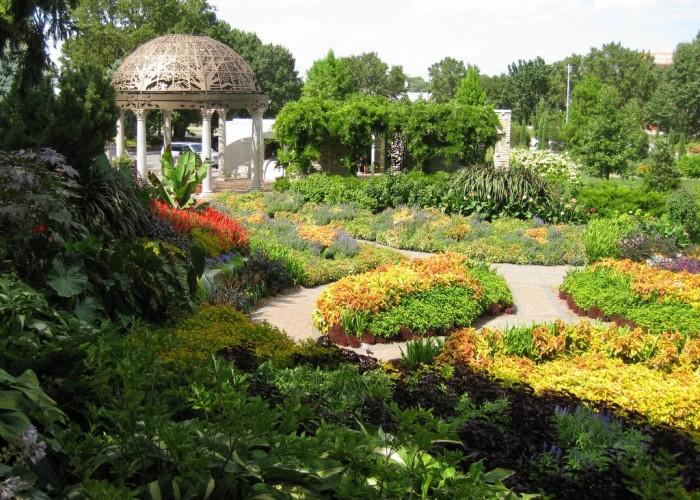5. The Sunken Gardens, Lincoln, NE