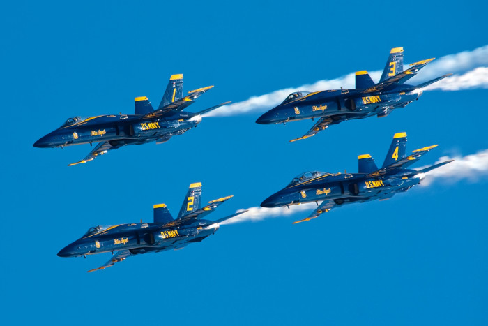 1. Watch the Blue Angels Practice in Pensacola
