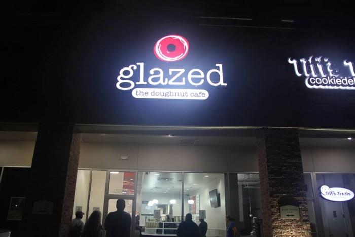 5) Glazed, The Doughnut Cafe - Houston