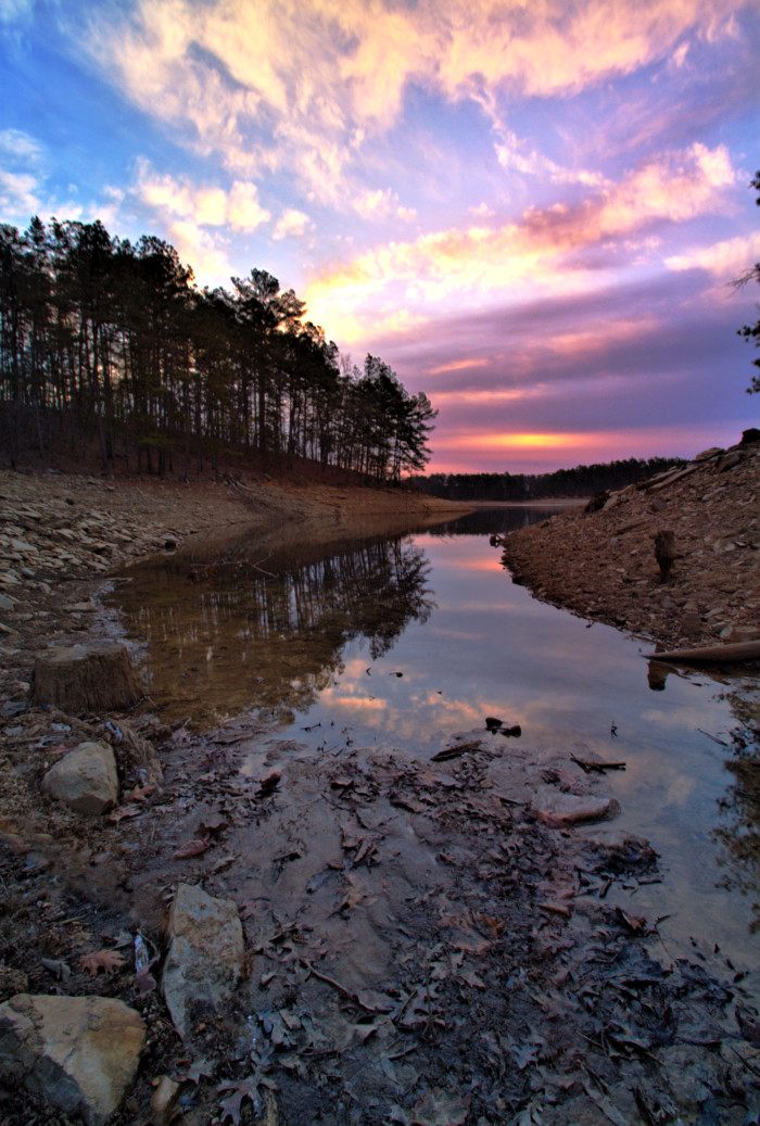 Go to Red Mountain State Park and Watch the Sunset as You Both Hike...