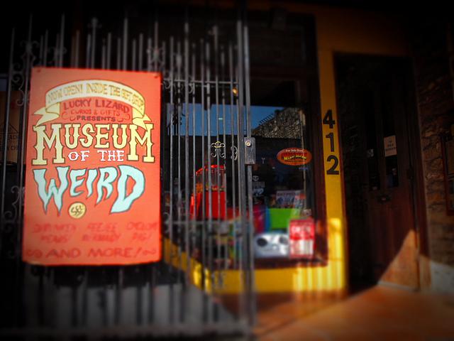 7) Museum of the Weird (Austin)