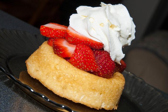 13. Strawberry shortcake