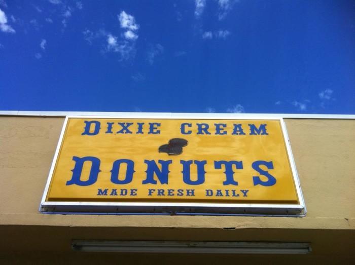 7. Dixie Cream Donuts