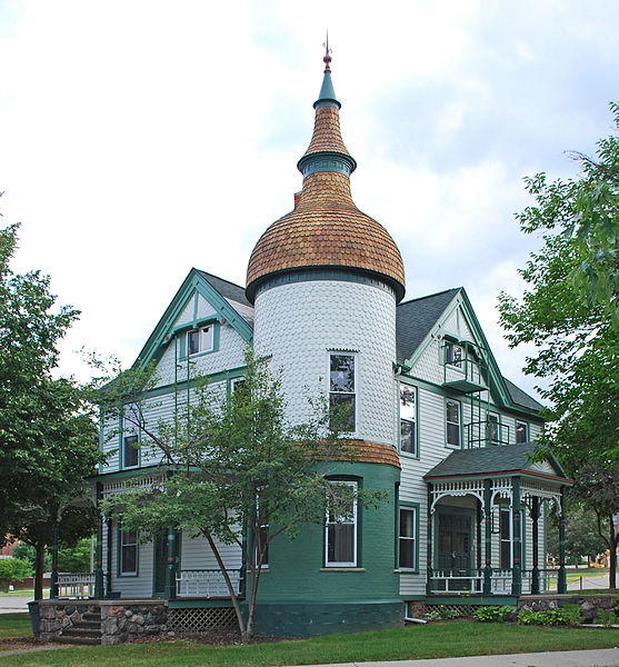 16) The Brinkerhoff-Becker House, Ypsilanti