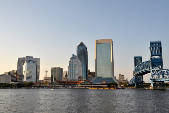 17. The St. John's River is one of the few in the world to run north.