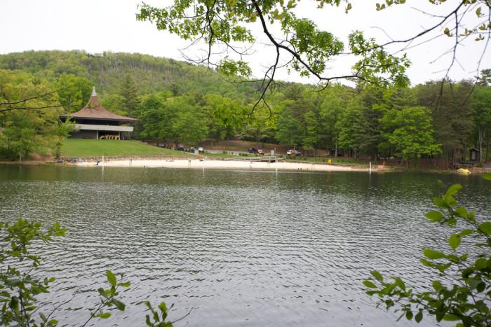 Lake Fort Mountain