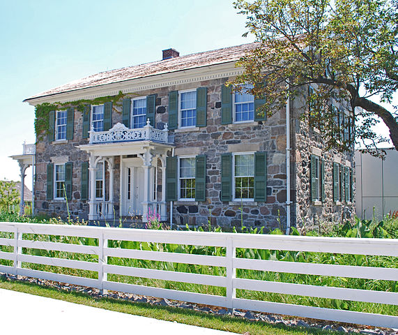 15) Brooks Farmhouse, Troy