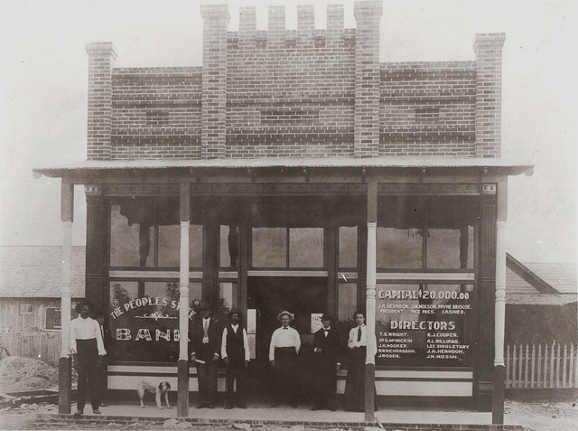 13) The People's State Bank in Kirbyville; if you knew your banker, you knew everything about the town.