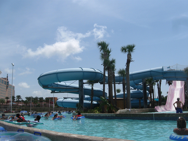5) Get wet n' wild at Schlitterbahn! If you don't like the speed slides, you can always just float the lazy river or catch some waves at the wave pool.