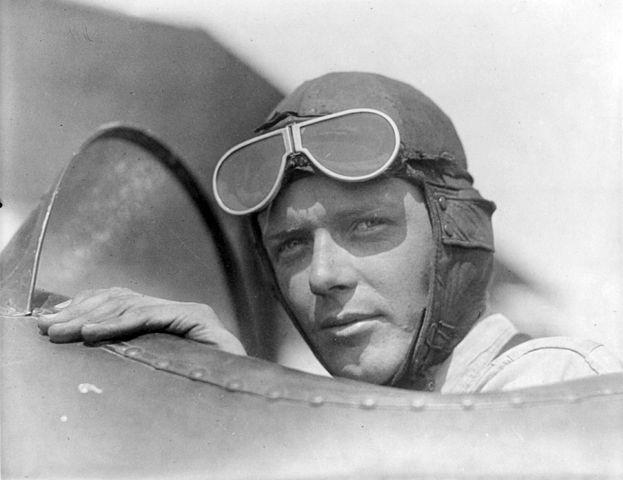 12) Charles Lindbergh