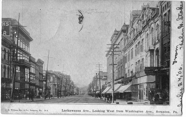 5. Lackawanna Ave, Scranton, July 24, 1906