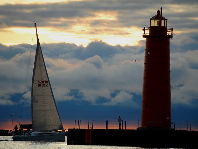 3) cruise up U.S. Route 31 to explore the beauty of Lake Michigan's beachtowns, touring the cities of Ludington,   Saugatuck, Muskegon, Grand Haven, Holland and St. Joseph.