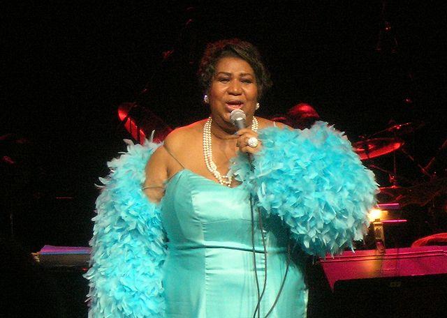 4) Aretha Franklin